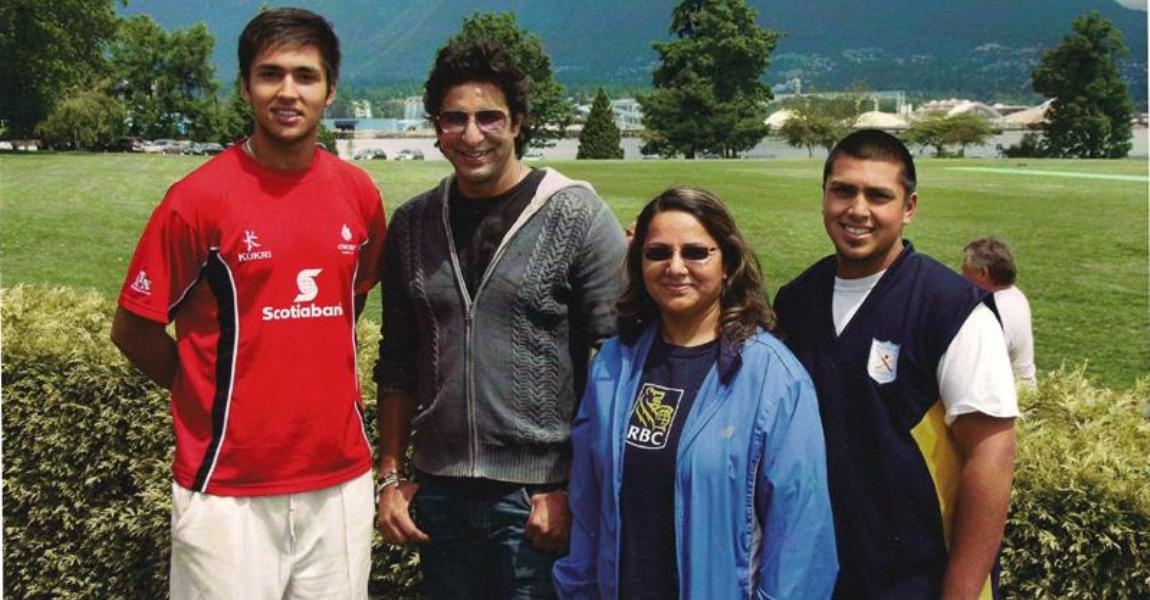 Wasim Akram in Vancouver - 2011